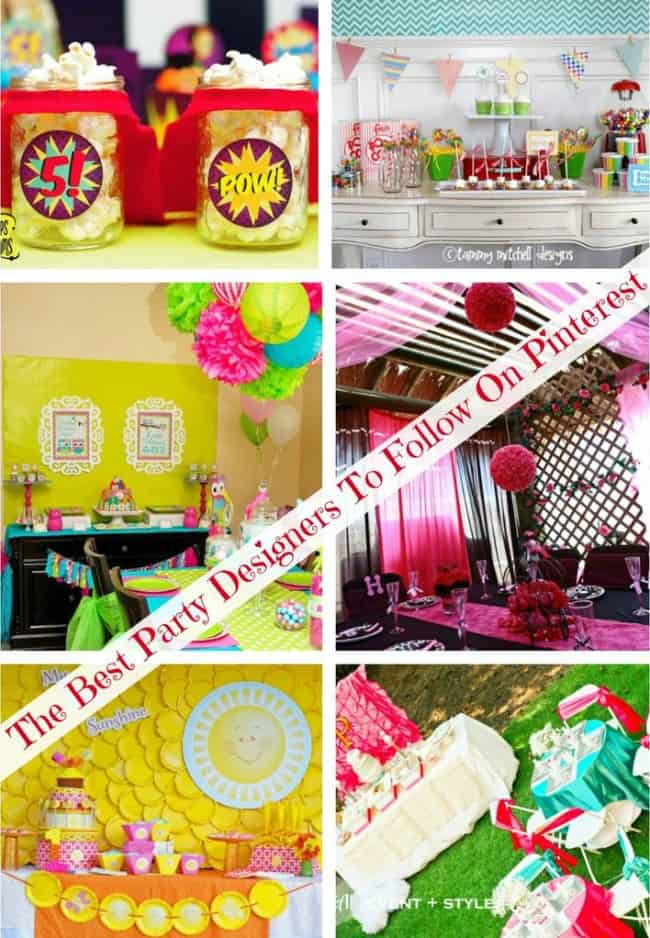 Best Party Designers To Follow on Pinterest