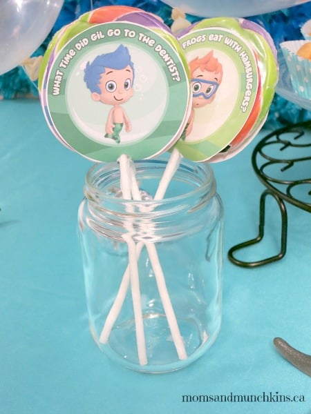 Bubble Guppies Birthday Party