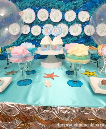 Bubble Guppies Birthday Party Moms amp Munchkins