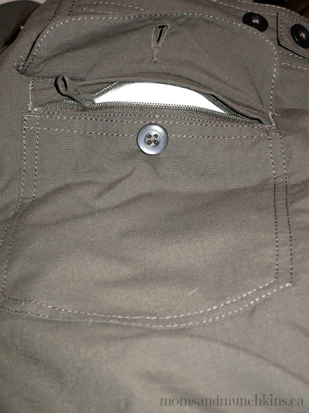 Travel pants for women moms munchkins for Travel shirts with zipper pockets