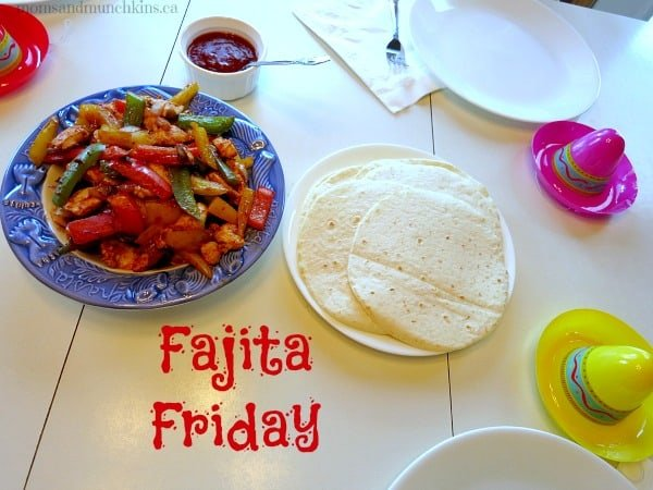 Mexican Meal Ideas - Fajita Friday