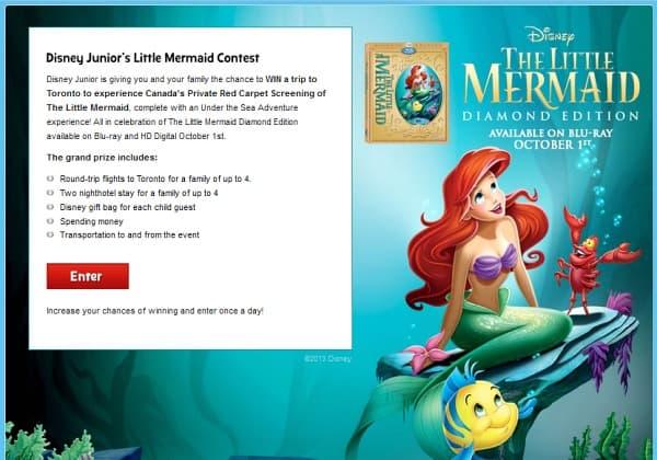 Little Mermaid Contest