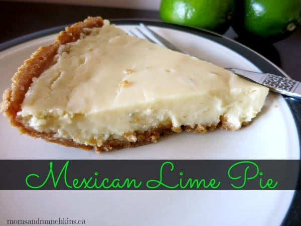 Mexican Meal Ideas - Lime Pie