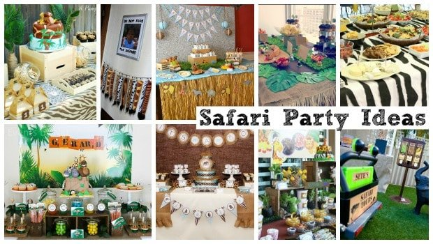 Safari Party Ideas Roundup Post Moms Amp Munchkins