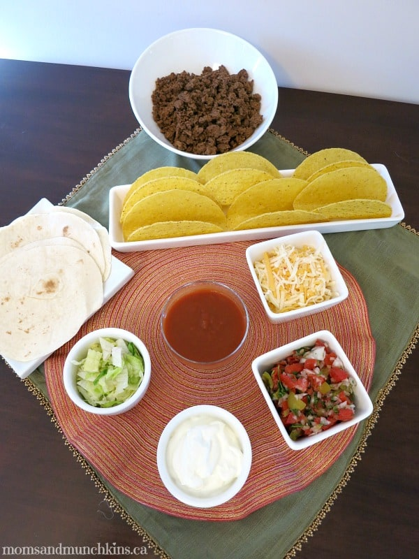 Mexican Meal Ideas - Tacos