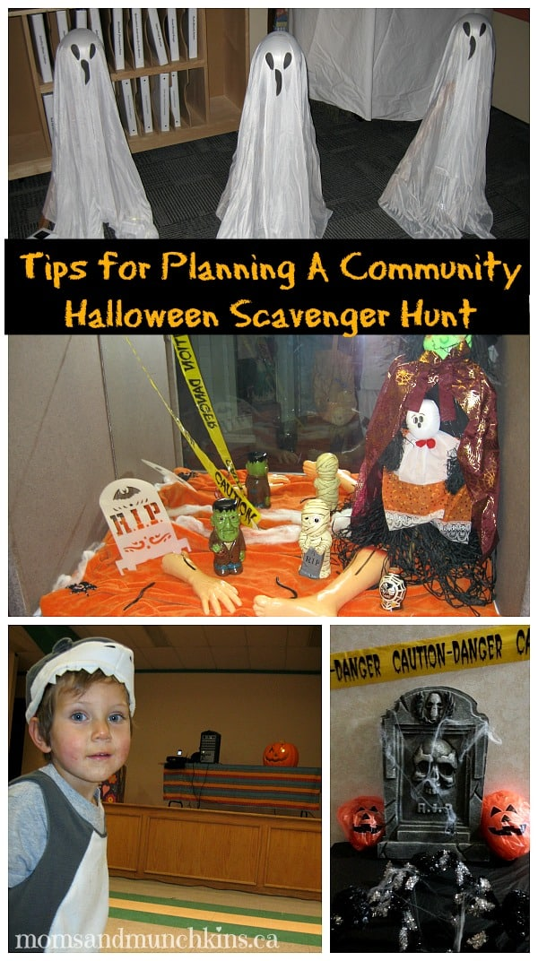 Halloween Community Scavenger Hunt Tips