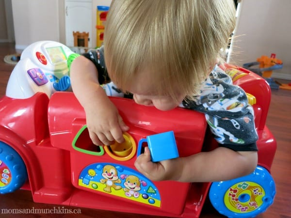 Creative Play Ideas - Laugh & Learn Crawl Around Car