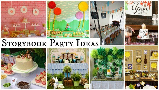 Storybook Party Ideas Moms Amp Munchkins