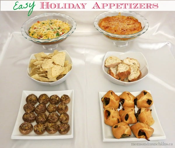 Easy Holiday Appetizers For Entertaining Moms Munchkins