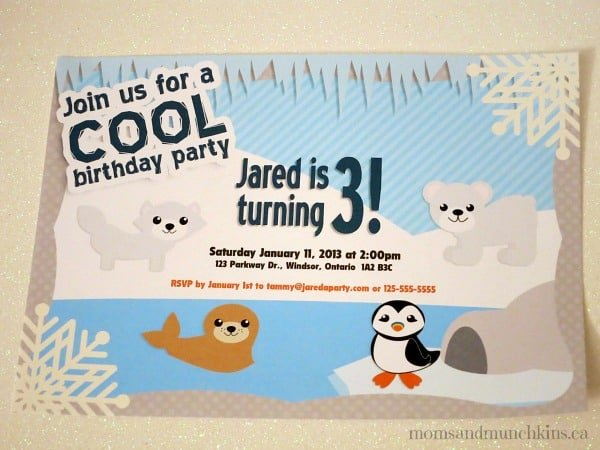 Arctic Birthday Party