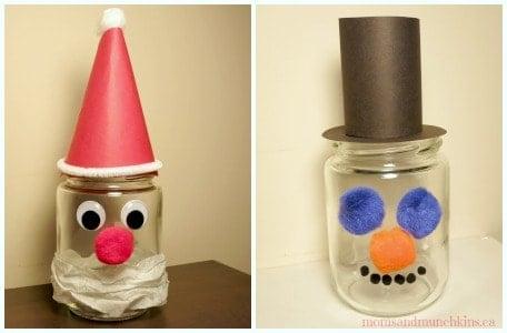 Christmas Jar Craft For Kids Moms Munchkins