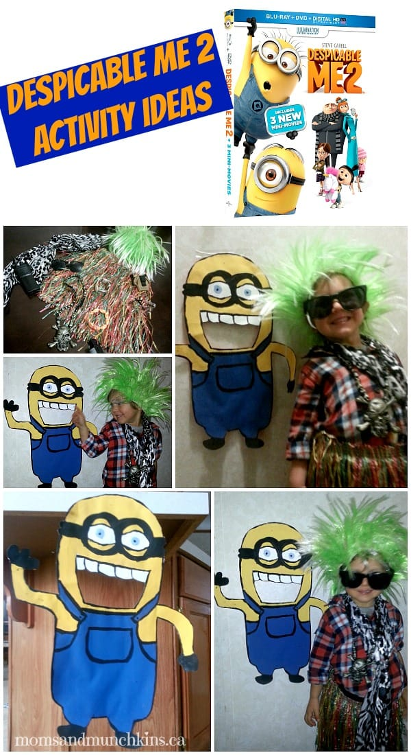 Despicable Me 2 Activities
