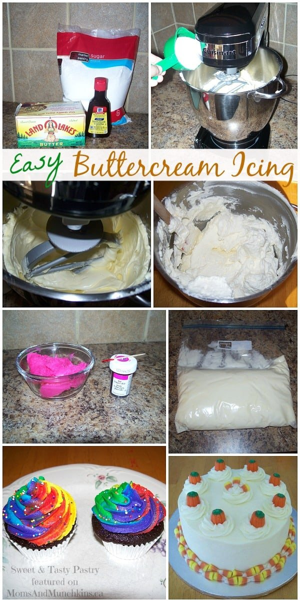 Easy Buttercream Icing