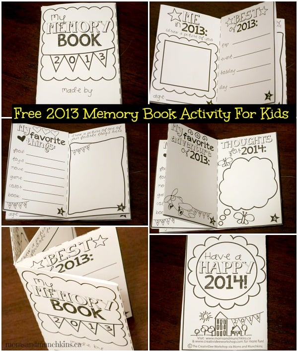 Gutsy image pertaining to free printable memory book pages