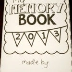 Free Memory Book for Kids