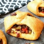 Sausage & Pepper Turnovers