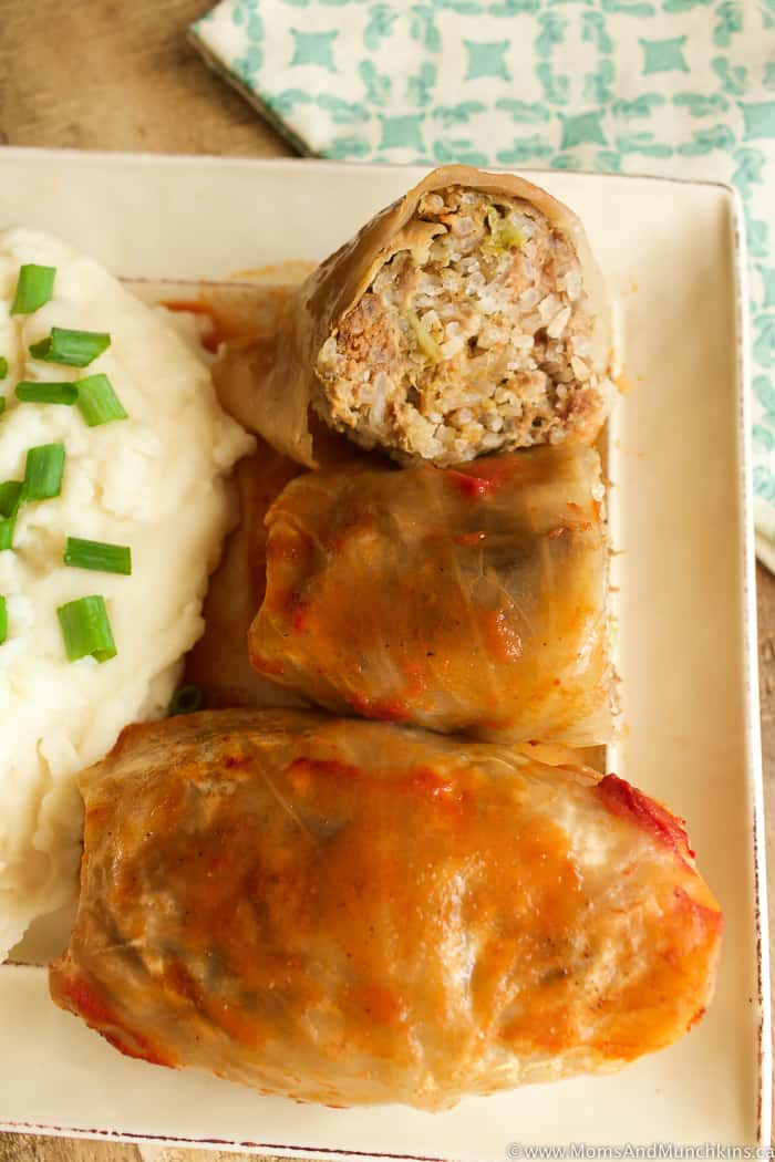 Best Cabbage Rolls My Mom S Secret Recipe Moms Amp Munchkins