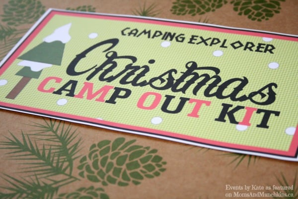 Christmas Camp Out Kit