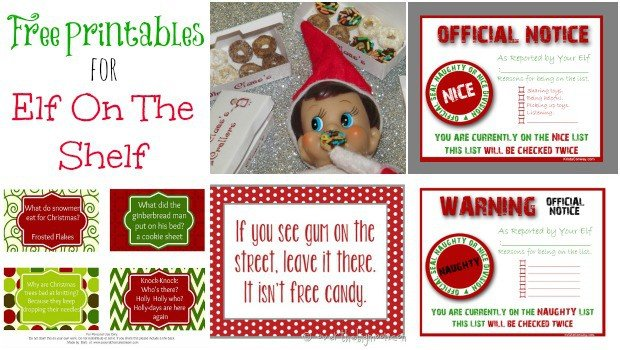 image relating to Free Elf Printable titled Elf upon the Shelf Printables (Freebies) - Mothers Munchkins