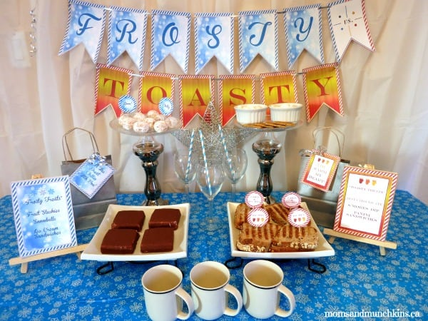 Winter Birthday Party Ideas - Frosty vs Toasty