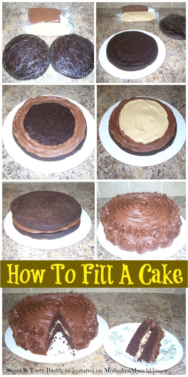 How To Fill A Cake