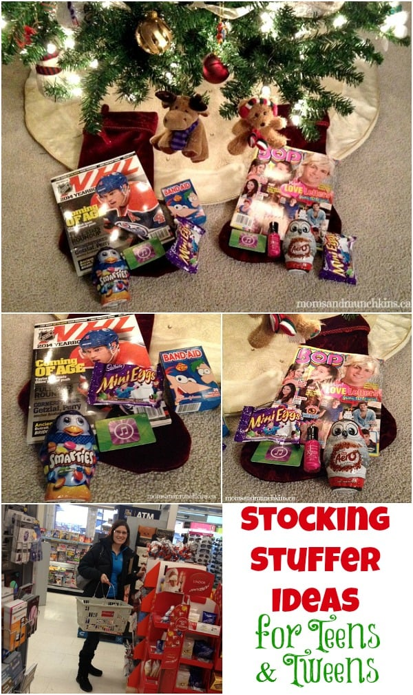 stocking stuffer ideas for teenagers moms munchkins