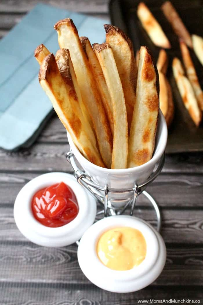 Homemade Baked Fries