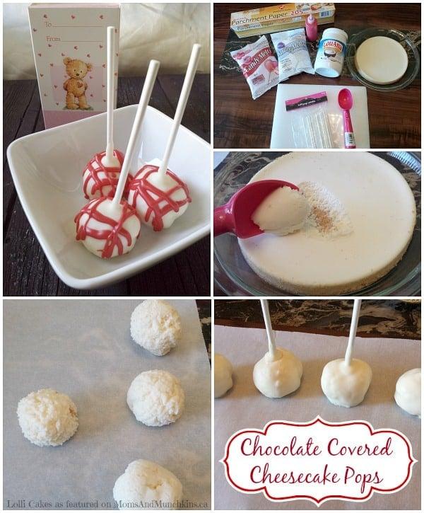 Cheesecake Pops Recipe