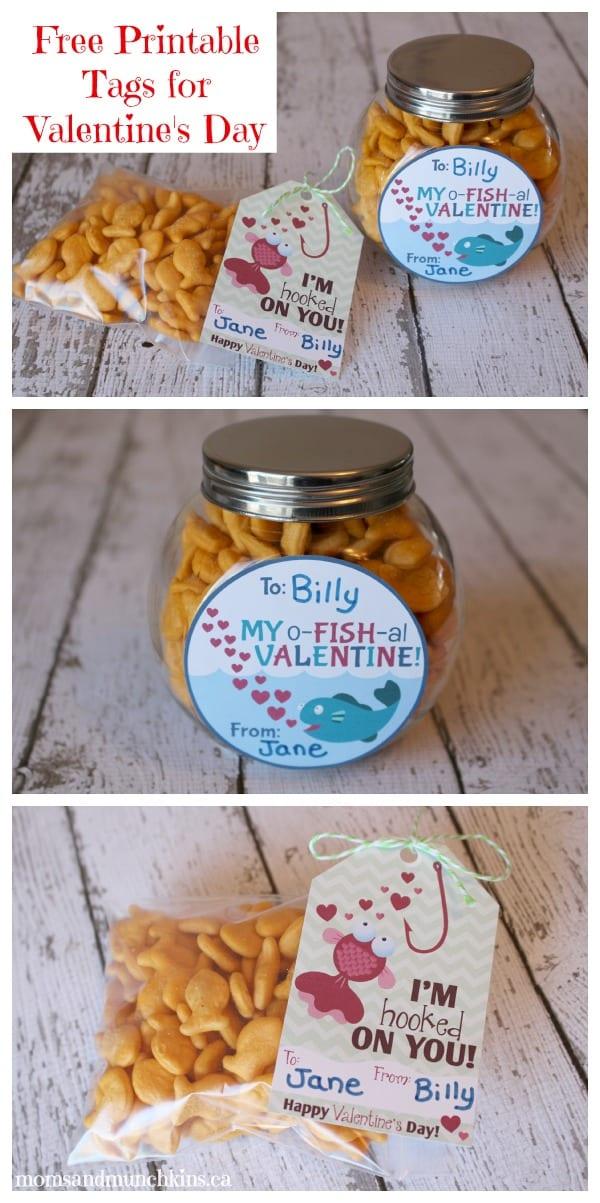 Free Valentine Tags