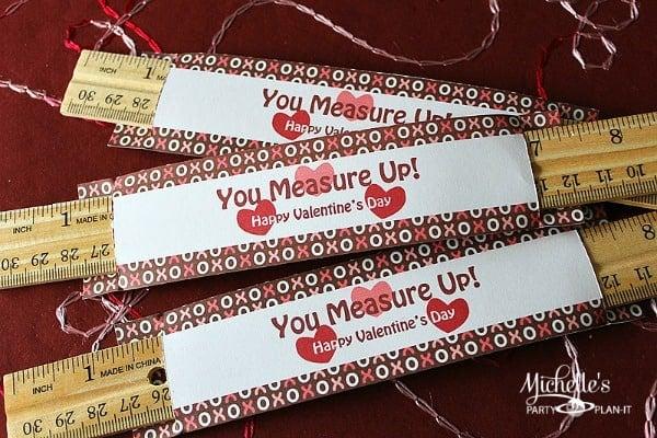 Free Printable Valentines Ruler