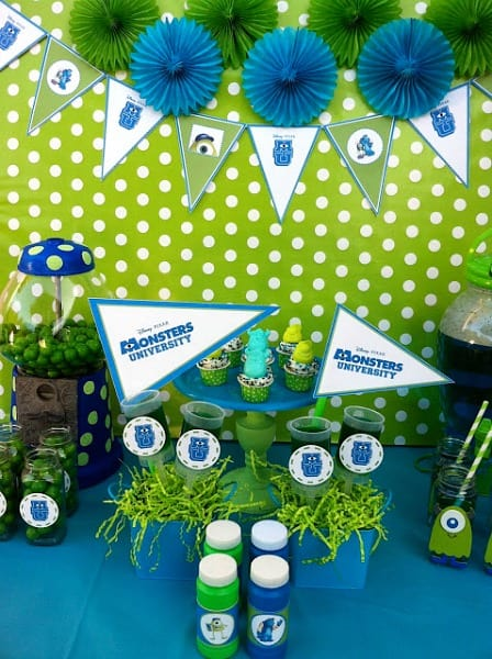 Monsters University Party Ideas