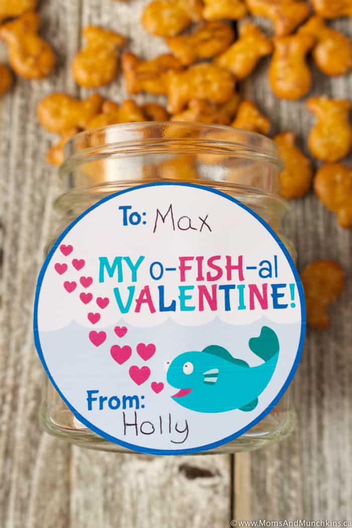 Free Valentine Tags - o-FISH-al Tags
