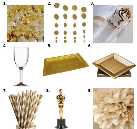 Ideas For Oscar Theme Party Images