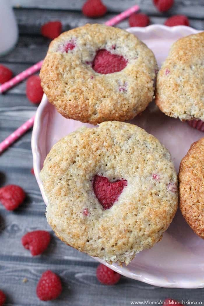 Raspberry Yogurt Muffins Recipe