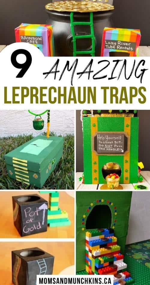 9 Amazing Leprechaun Traps for kids