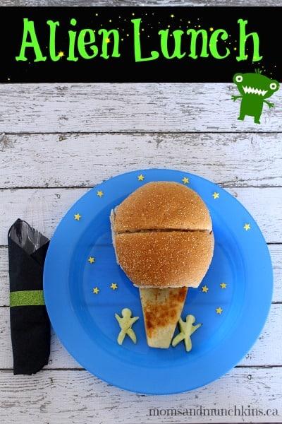 Alien Lunch Idea