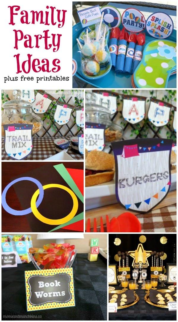 Family Party Ideas