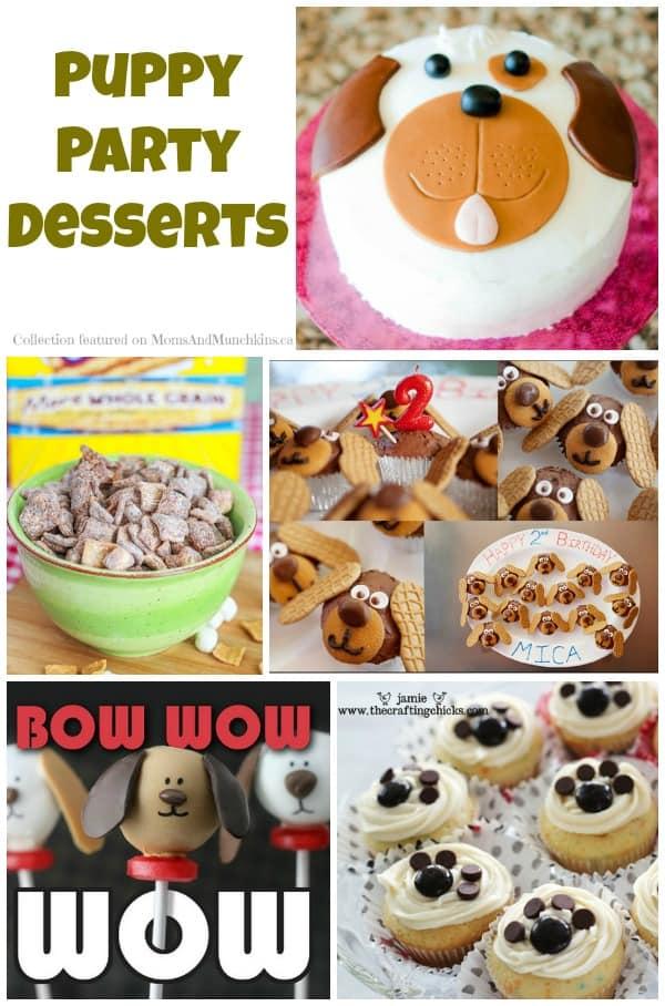 Puppy Party Desserts