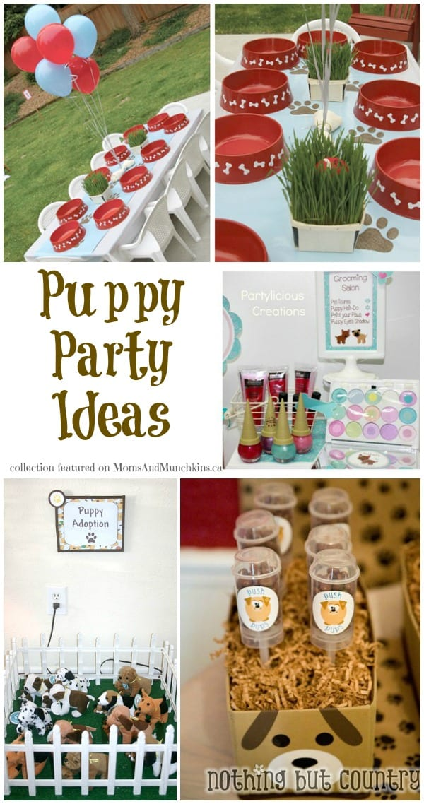 Puppy Party Ideas
