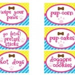Puppy Party Printables