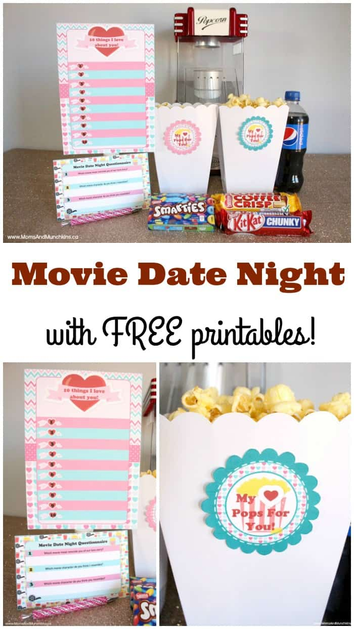 Movie Date Night Printables