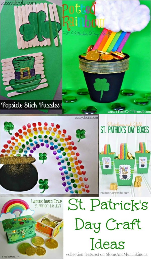 St. Patrick's Day Crafts