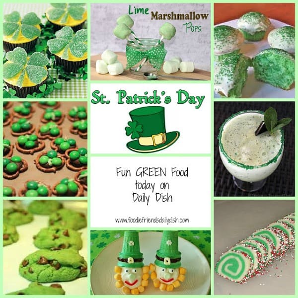 St. Patrick's Day Cupcakes & Cakes