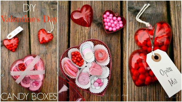 Valentine Treats - Candy Boxes
