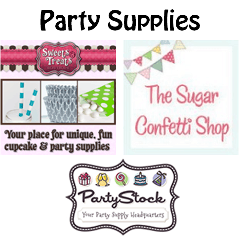 Recommended Party Supplies