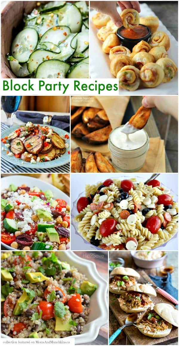 Block Party Recipes