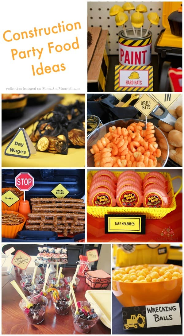 Construction Party Food Ideas Collection Moms Amp Munchkins