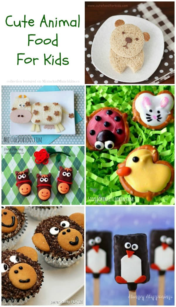 Cute Food Animals Silly Lunch Amp Breakfast Ideas For Kids