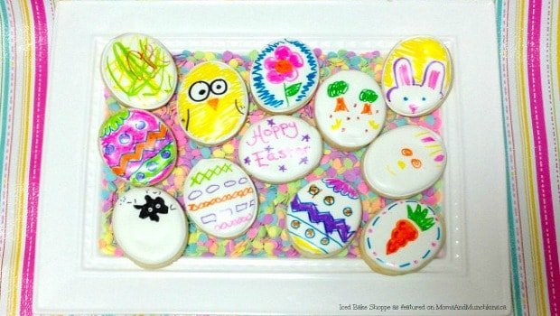 Easter Sugar Cookies Craft For Kids