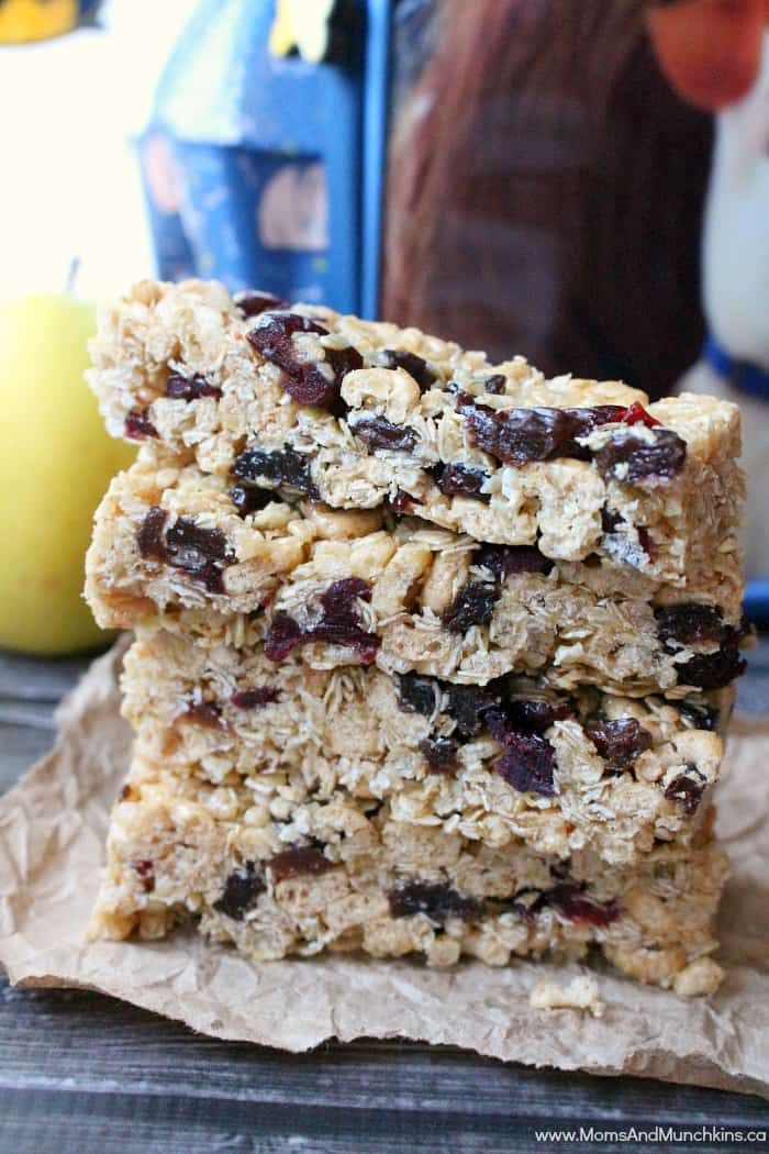 Chewy Granola Bar Recipe